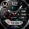 MD202 -  Digital Hybrid Watch face Matteo Dini MD
