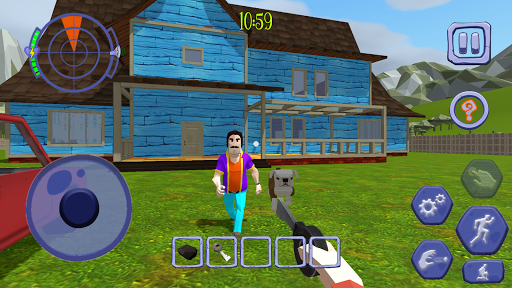 Scary Clown Man Neighbor. Seek & Escape Apkfinish screenshots 10