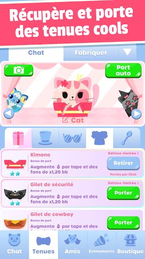 Code Triche Greedy Cats: clique chaton (Astuce) APK MOD screenshots 1
