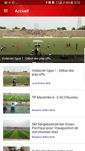 vodacom ligue 1 screenshot 1