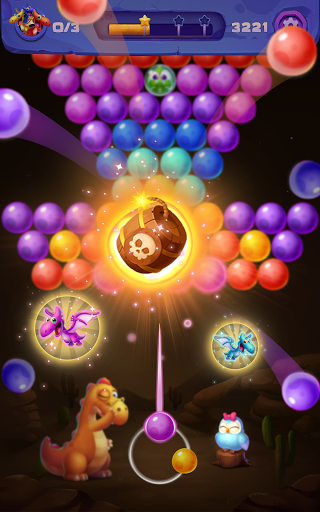 Bubble Shooter: Primitive Dinosaurs - Egg Shoot 1.04 screenshots 12