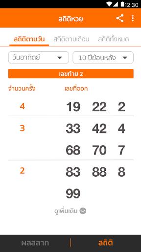 Lotto Thai (u0e15u0e23u0e27u0e08u0e1cu0e25u0e2au0e25u0e32u0e01) 2.5.1 Screenshots 2