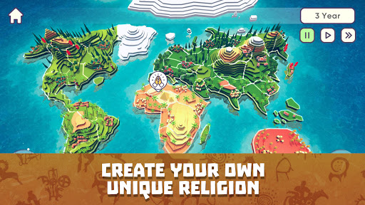 God Simulator. Sandbox strategy game Religion Inc. 1.1.90 screenshots 2