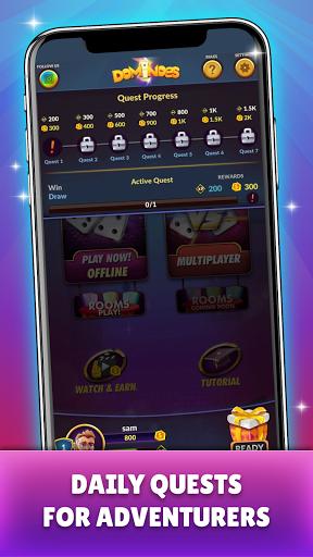 Dominoes - Offline Free Dominos Game apktram screenshots 4