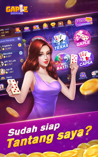 Gaple-Domino Poker QiuQiu Capsa Ceme Slot Online 2.16.0.0 screenshots 1