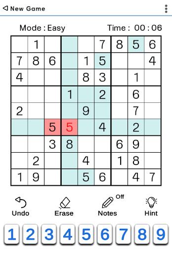 Sudoku Classic 1.5.2 screenshots 2