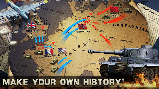 World War 2: Strategy Games WW2 Sandbox Simulator Mod Apk 320 (Unlimited Money/Medals) 6