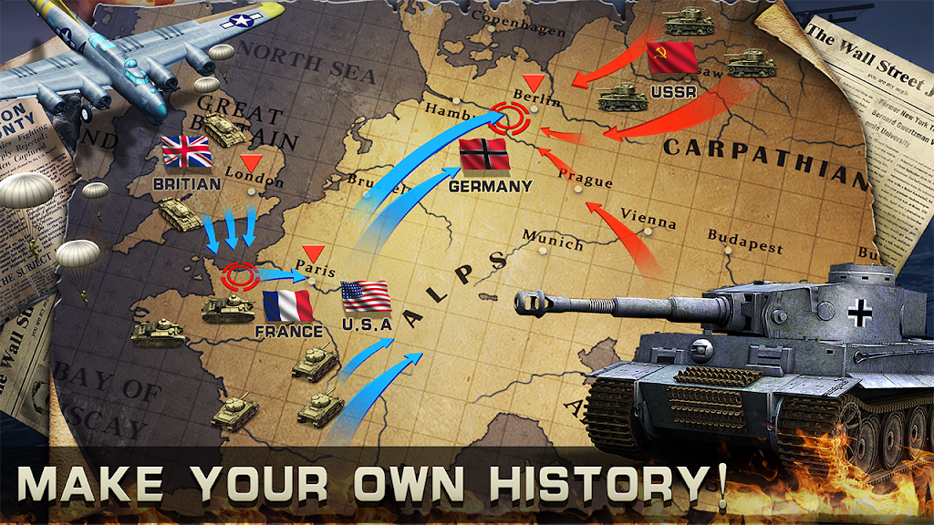 World War 2: Strategy Games WW2 Sandbox Simulator  poster 9