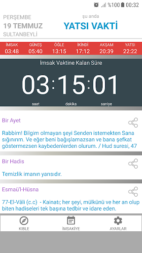 Ezan Vakti Alarmu0131 android2mod screenshots 1