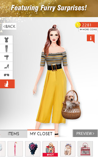 International Fashion Stylist - Dress Up Studio 4.6 screenshots 15