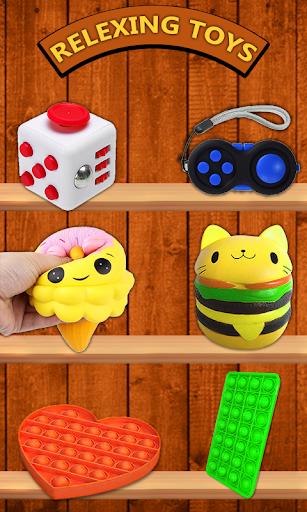 Code Triche Pop it Fidget Cube: Fidget Toys 3D Relax & Calm (Astuce) APK MOD screenshots 1