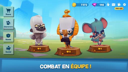 Code Triche Zooba: Bataille multi-joueurs en ligne (Astuce) APK MOD screenshots 4