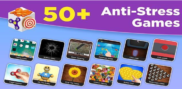 Goo Antistress Toys Fidget Cube: Slime games 2021 3.1.33 screenshots 1