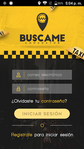 buscame conductor screenshot 2
