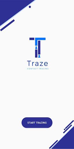 Traze - Contact Tracing 2.7 Screenshots 1