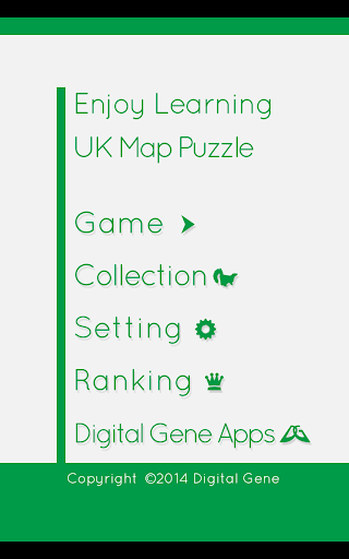 Enjoy Learning UK Map Puzzle screenshots 15