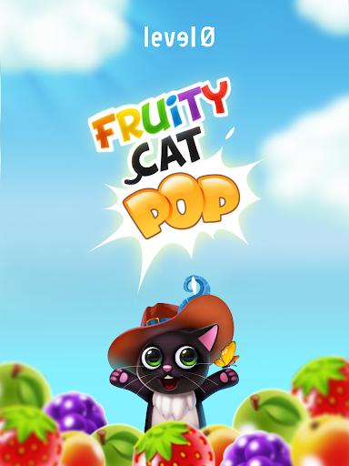Fruity Cat -  bubble shooter! filehippodl screenshot 15