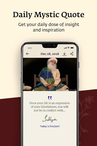 Sadhguru - Yoga, Meditation & Spirituality 6.4.6 Screenshots 7