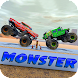 Trucks Tug of war: Monster Pull Match