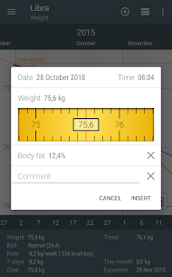 Libra – Weight Manager [PRO] [MOD EXTRA] Apk Download 2
