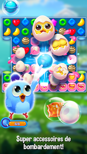 Code Triche Bird Friends : Match 3 & Free Puzzle APK MOD (Astuce) screenshots 2