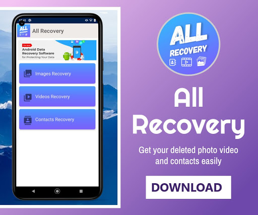 All Recovery : Photo Video & Contacts hack tool