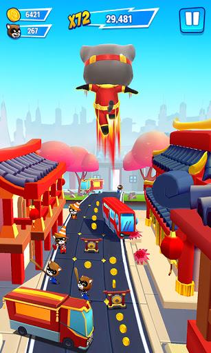 Code Triche Talking Tom Hero Dash (Astuce) APK MOD screenshots 3