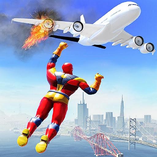 Real Robot Superhero Rescue Mission Screenshot 1