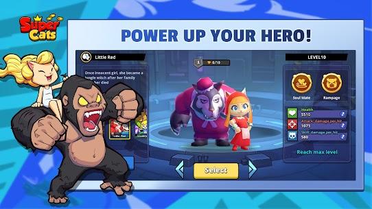 Super Cats MOD APK 1.0.83  (Dumb Enemy) 4