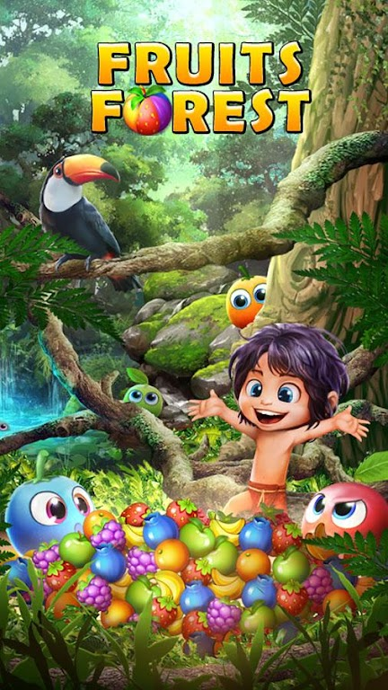 Fruits Forest : Rainbow Apple poster 15