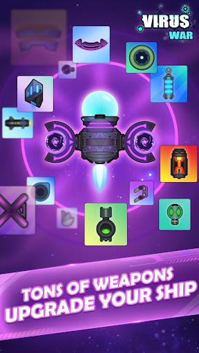 Virus War - Space Shooting Game 1.8.4 screenshots 2