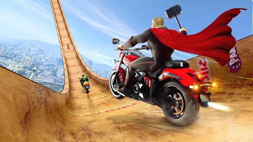 Mega Ramp Bike GT Racing 3D: Bike Stunt Games 2021 apktram screenshots 4