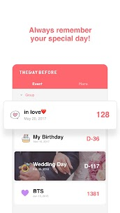TheDayBefore Mod Apk (days countdown) [Pro Unlocked] 2