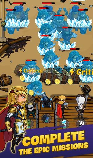 Zombie War: Idle Defense Game  screenshots 4