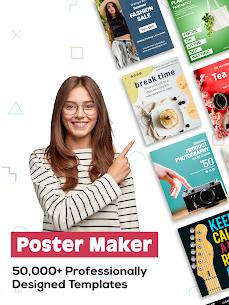 Poster Maker 2021 – Create Flyers & Posters MOD APK 45.0 (Pro Unlocked) 9