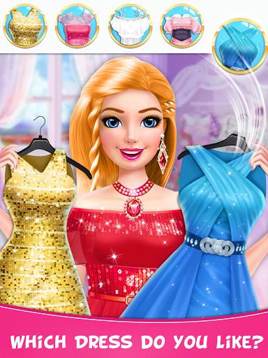 Braided Hairstyle Salon: Make Up And Dress Up  screenshots 9