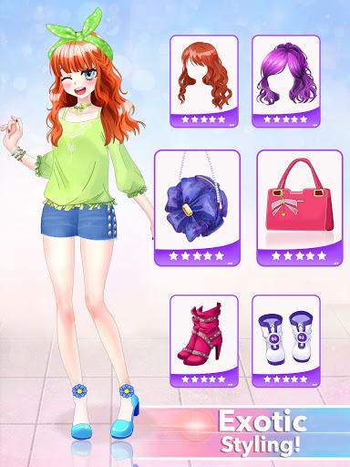 Anime Dress Up Queen Game for girls 0.1 screenshots 19