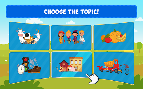 The Blue Tractor: Fun Learning Games for Toddlers 1.2.0 Screenshots 19