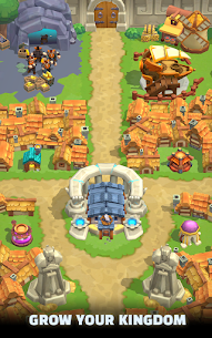 Wild Castle TD: Grow Empire Tower Defense 1.0.7 Android Mod + APK + Data 2
