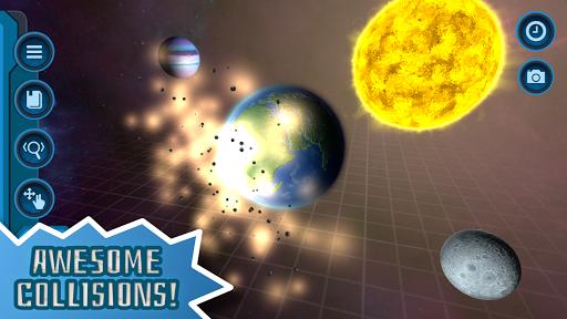 Pocket Galaxy - 3D Gravity Sandbox Space Game Free  Screenshots 1