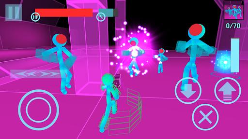 Stickman Neon Gun Warriors  screenshots 3