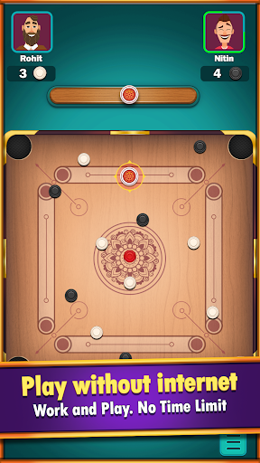 Carrom World : Online & Offline carrom board game modavailable screenshots 4