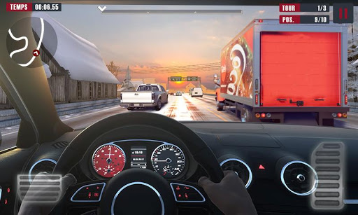 Racing Traffic Car Speed  screenshots 1