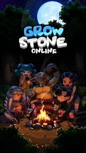 Grow Stone Online : 2d pixel RPG, MMORPG game 1