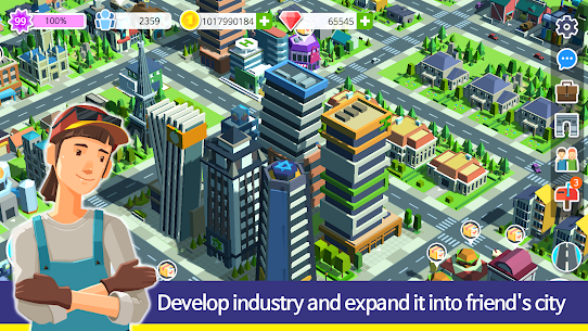 People and The City Mod Apk 1.0.706 (Free Stuff) 5