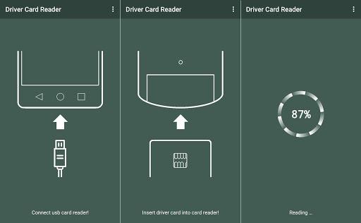 Driver Card Reader  Screenshots 1