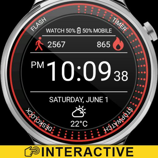 Running Watch Face Icon