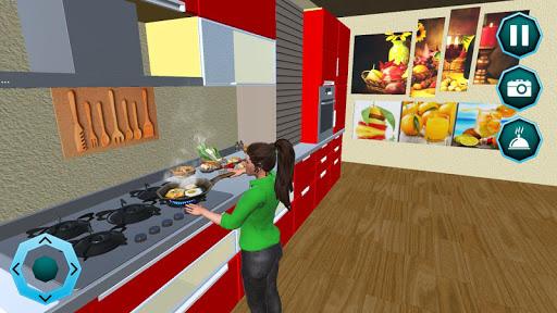 Télécharger Travailler maman Paper Girl Jeu de famille mod apk screenshots 2