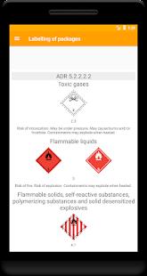 ADR Dangerous goods