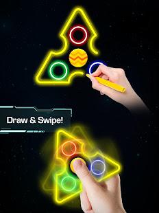 Draw Finger Spinner
